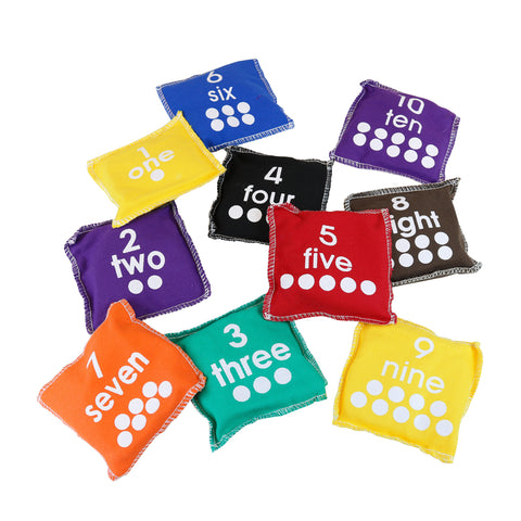 First-play Number Beanbags