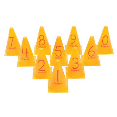 First-play Number Cones