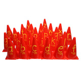First-play A-Z Alphabet Cones
