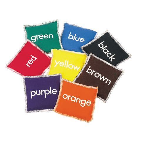 Multi-Colour First-Play Number Beanbags