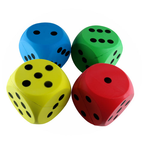First-play Foam Dice