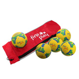 First-play Moulded Rubber Football Pack 5 In Bag