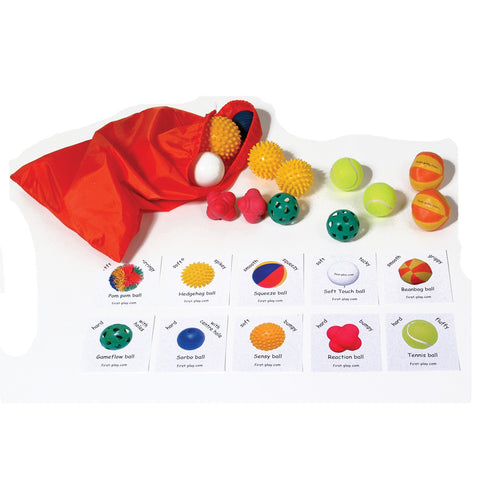 First-play Tactile Ball Pack