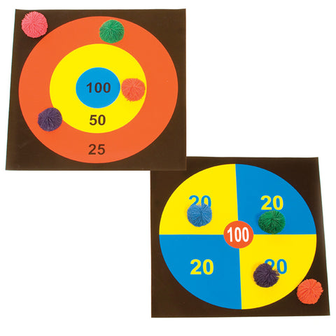 First-play Boccie Target Set