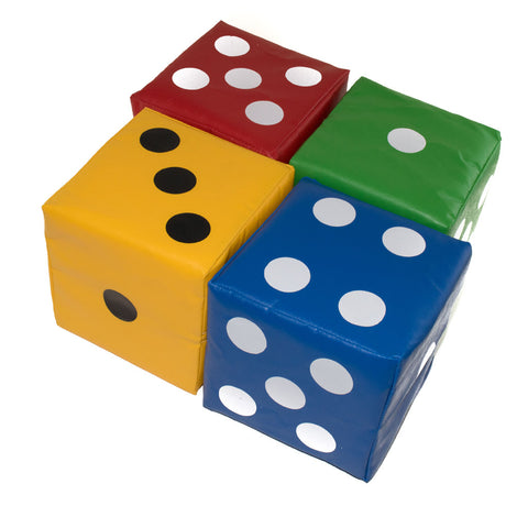 First-play Giant Softplay Dice