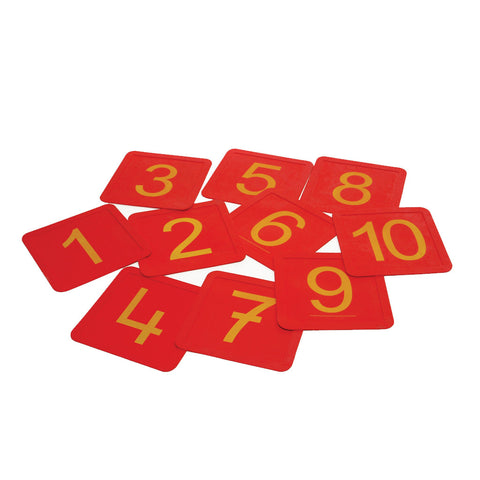 First-play Non Slip Number Squares