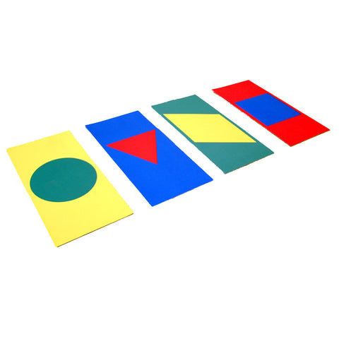 First-play Colour Shape Mats