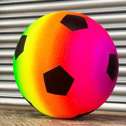 Urban Rainbow Neon Football