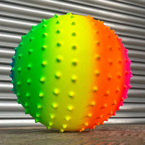 Urban 23cm Rainbow Neon Sensory Play Ball
