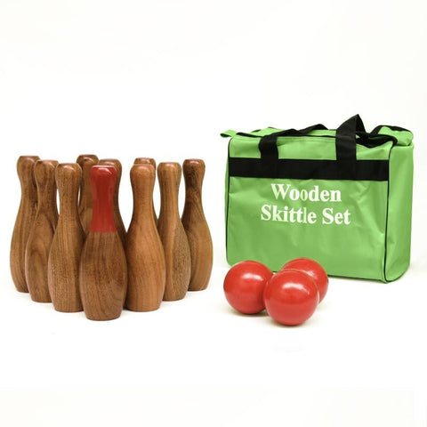 First-play Urban Wooden Skittle Set