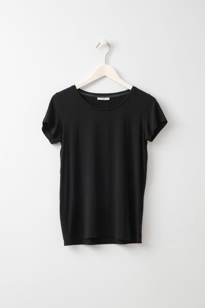 Witta Black T-Shirt by Minimum