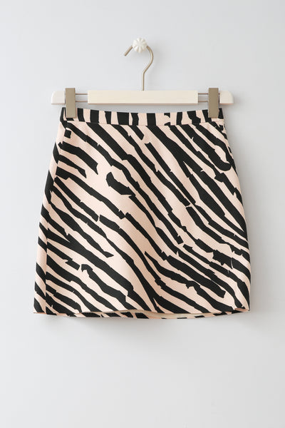 Zebra Skirt by Fox in a Glove
