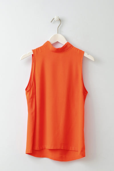 Henrikke Orange Top by Minimum