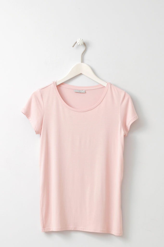 Witta Pink T-shirt by Minimum