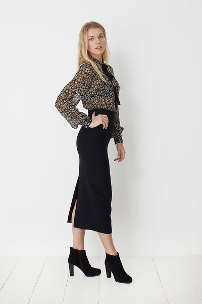 Julia Black Skirt by Mes Dames
