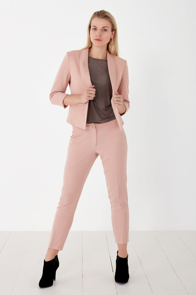 Halle Pink Trousers by Minimum