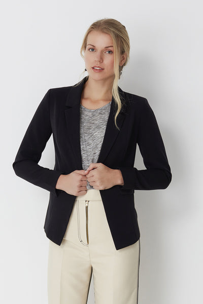 Nathja Black Blazer by Minimum