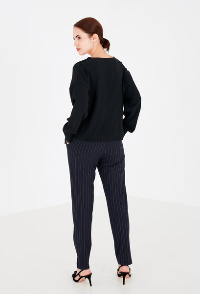 Spring Pin Stripe Trousers by J. Lindeberg