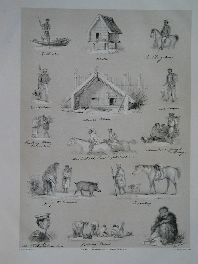 Sketches from the notebook of Charles Barraud