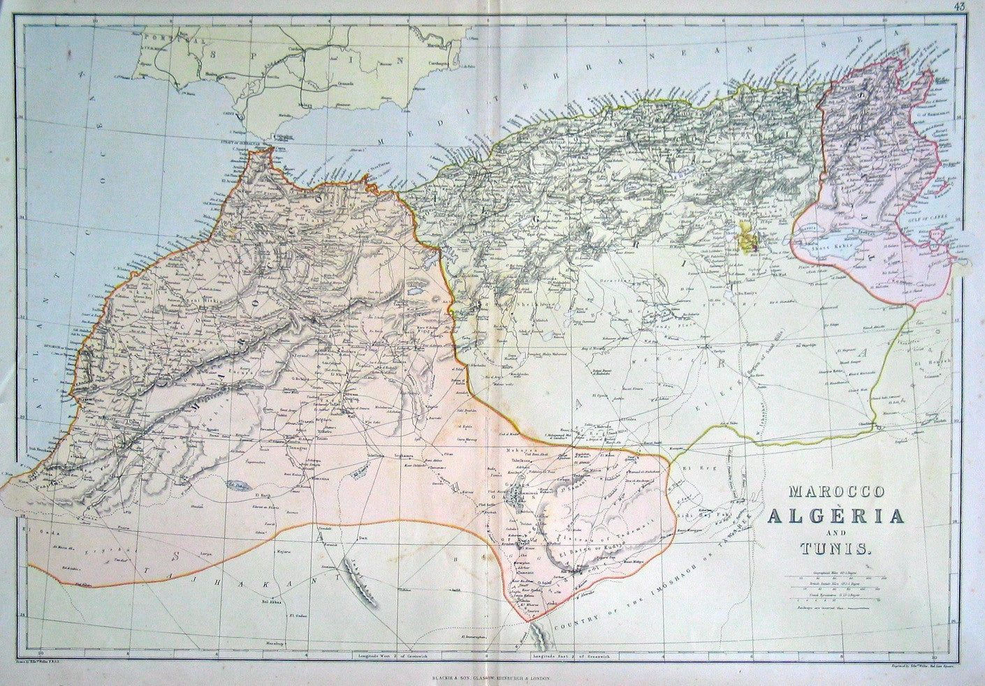 Marocco(sic), Algeria and Tunis