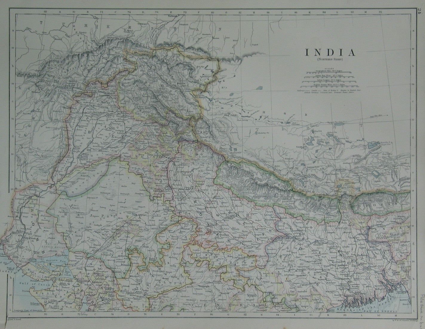 India (Northern Sheet)