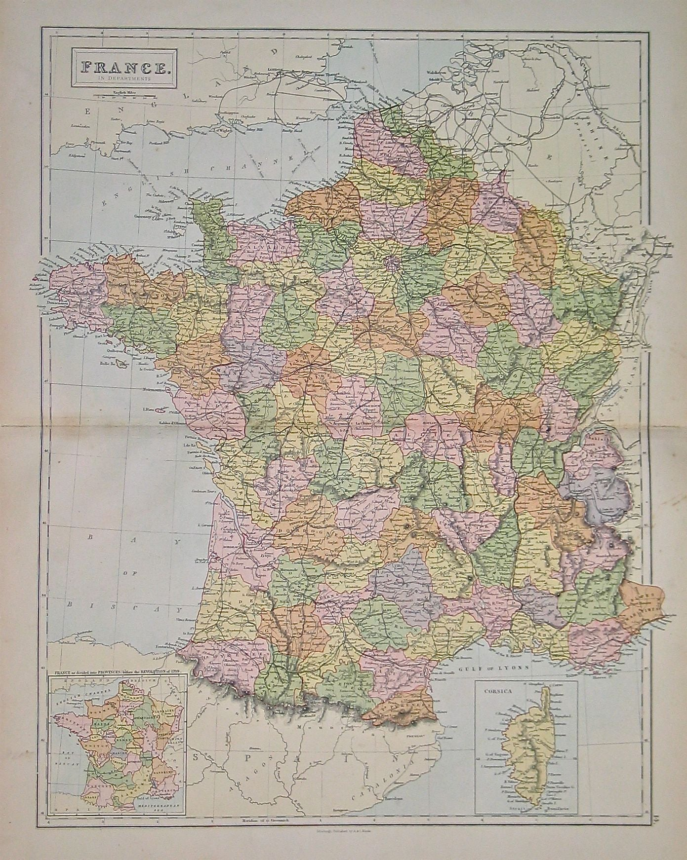 France in Departments
