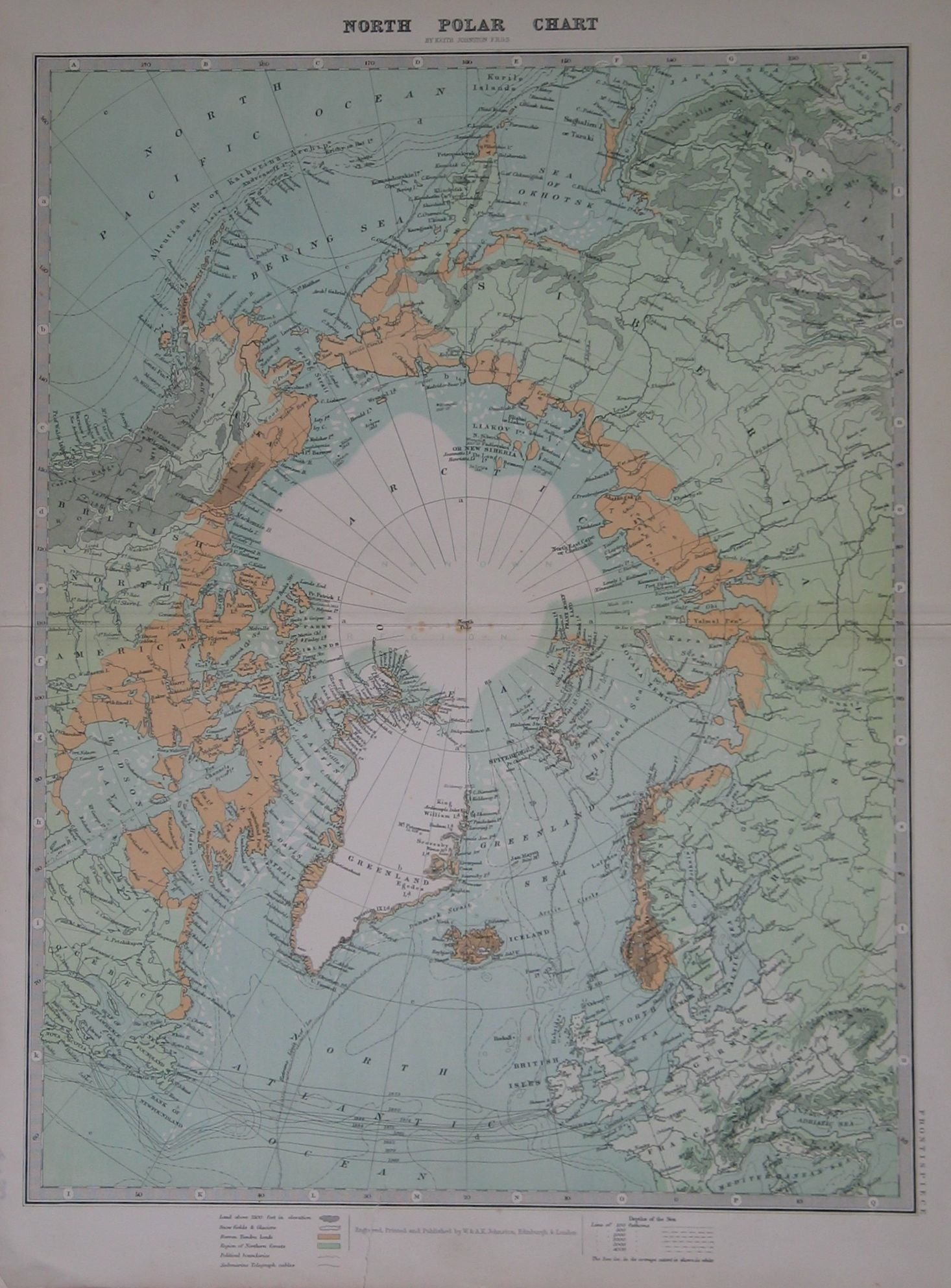 North  Polar Chart