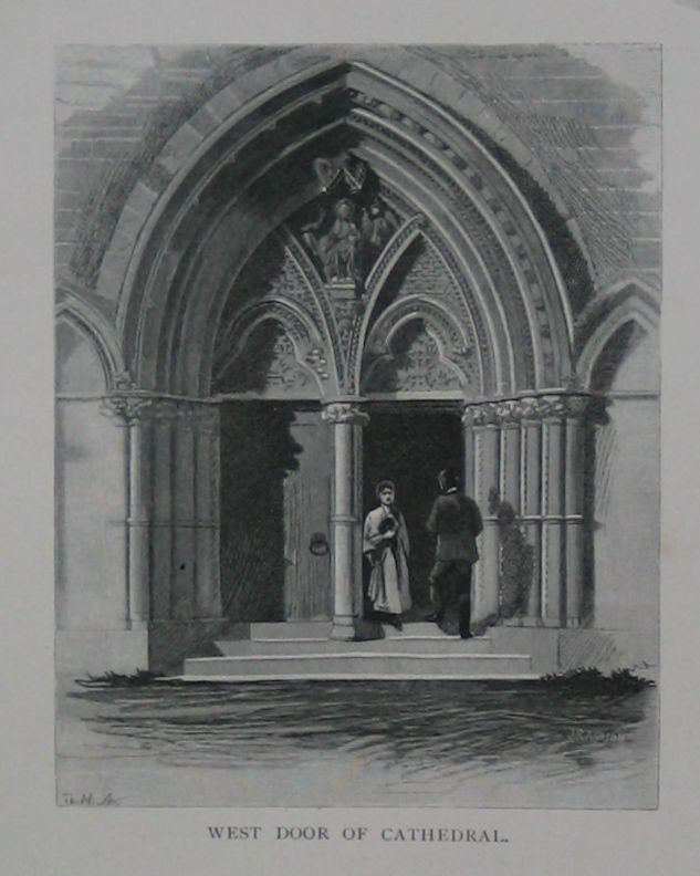 West Door of Christchurch Cathedral