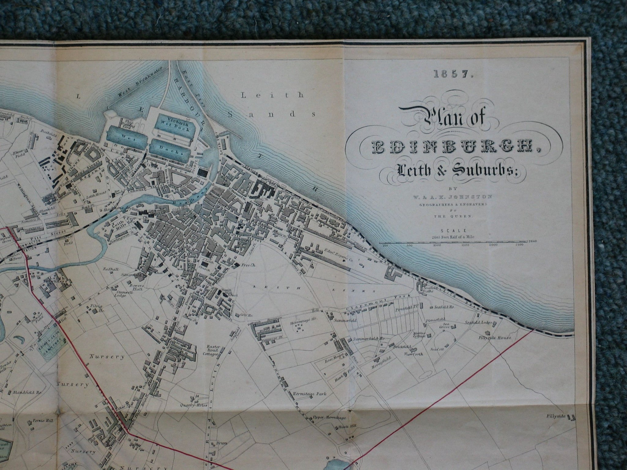 Plan of the City of Edinburgh