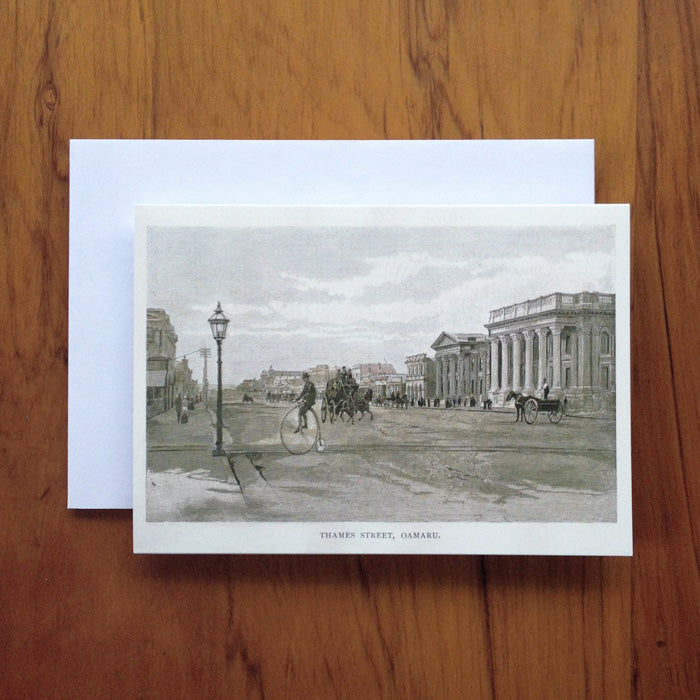 Thames Street, Oamaru Greeting Card