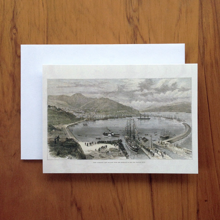 Port Lyttelton Greeting Card