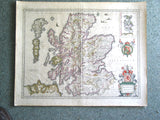 Scotia Regnum - Bleau map of Scotland