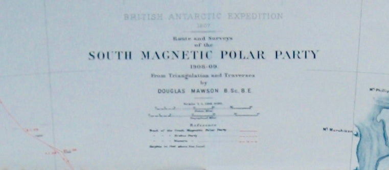 "Magnetic South Pole ""Nimrod"" expedition"