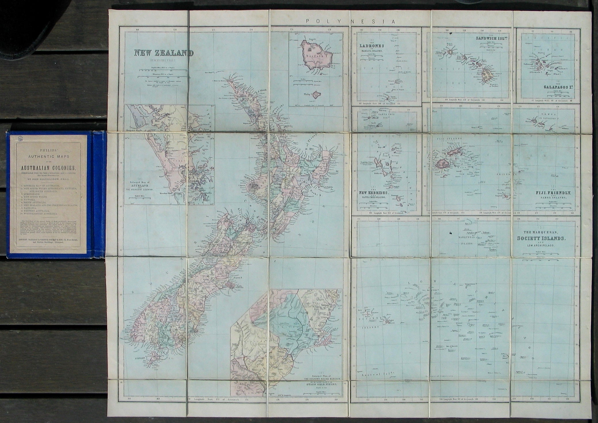 New Zealand and the Island Groups of the Pacific
