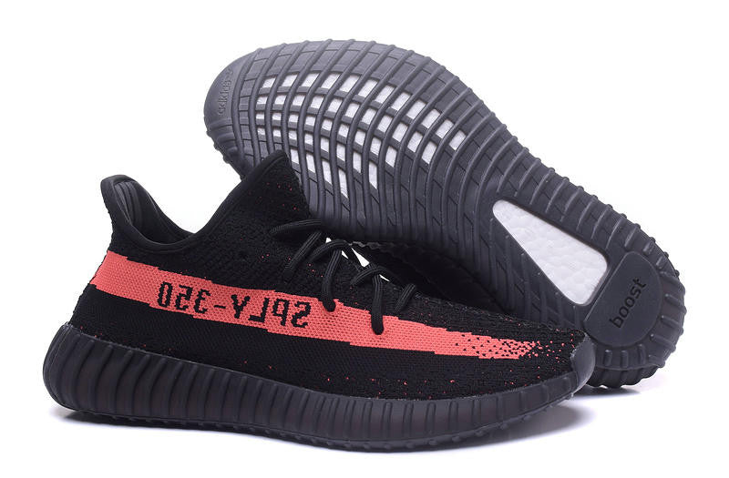 Adidas Yeezy Boost 350 V2 Low Black/Orange SPLY Kanye West BY9612
