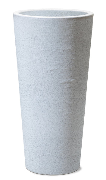 Tall Grey Fibre Pot