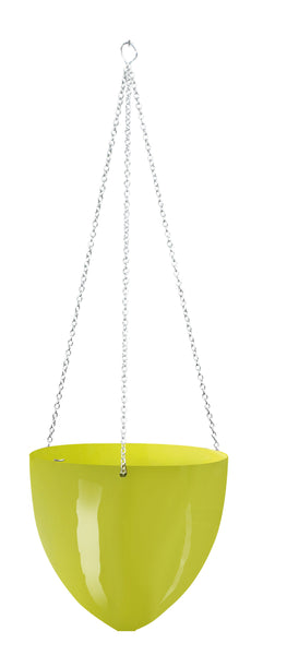 Plastic Hanging Pot Green