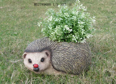 Hedgehog Flower Pot