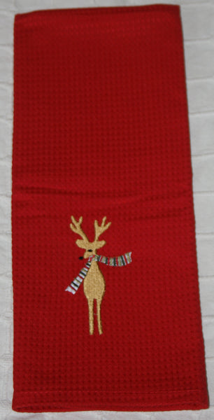 101 Red Kitchen Towel