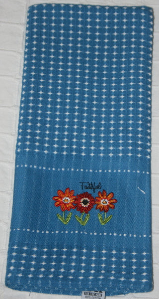 102 Blue Kitchen Towel