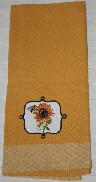 103 Yellow Kitchen Towel