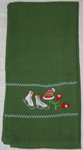 104 Dark Green Kitchen Towel