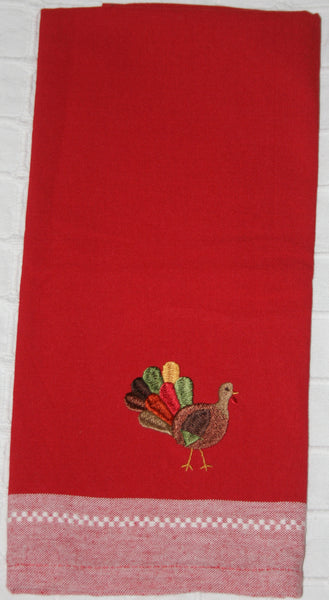 106 Red Kitchen Towel