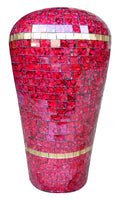 MOST201 - Mosaic pot - Pink