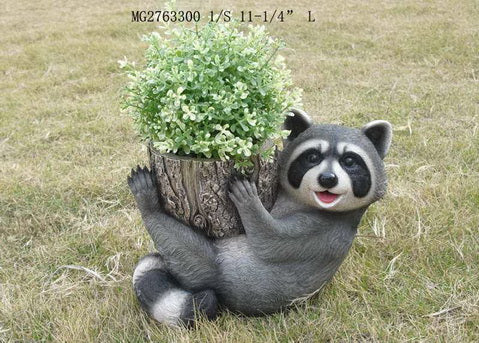 Raccoon Flower Cylinder
