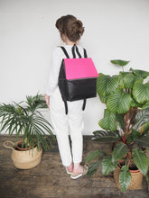 Hexagon backpack - Pink