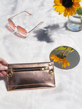 Rose Gold Purse with Detachable Chain