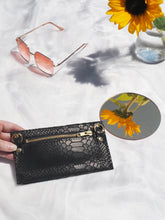 Python Purse with Detachable Chain