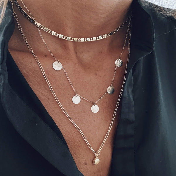 heylove COLLARES MULTIMOONS - ORO