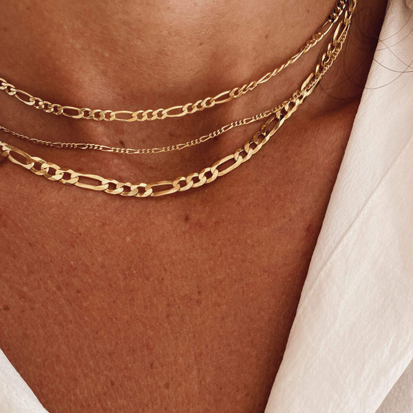heylove COLLARES THIN CHAIN - ORO